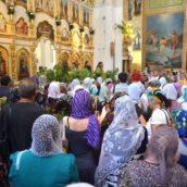 Празднование Троицы в Запорожье