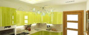 Стоит ли переносить мойку к окну или дань западной моде на интерьер кухни