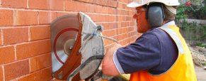 Использование стенорезных машин для резки бетона